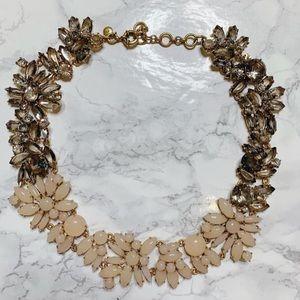J. Crew Floral Gem Necklace